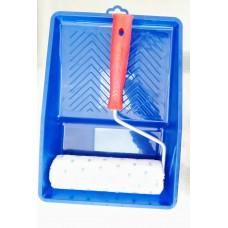 Комплект валяк и пластмасова ваничка за боя 25х33см