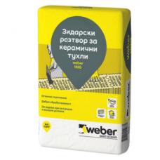 Варов разтвор Weber 110G - сух - 40кг