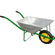 Градинска количка с гумено колело - 58л до 120кг