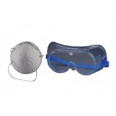К-т маска за прах и защитни очила